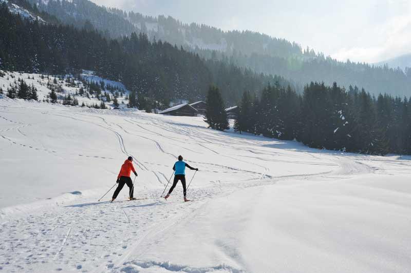 Châtel : ski de fond