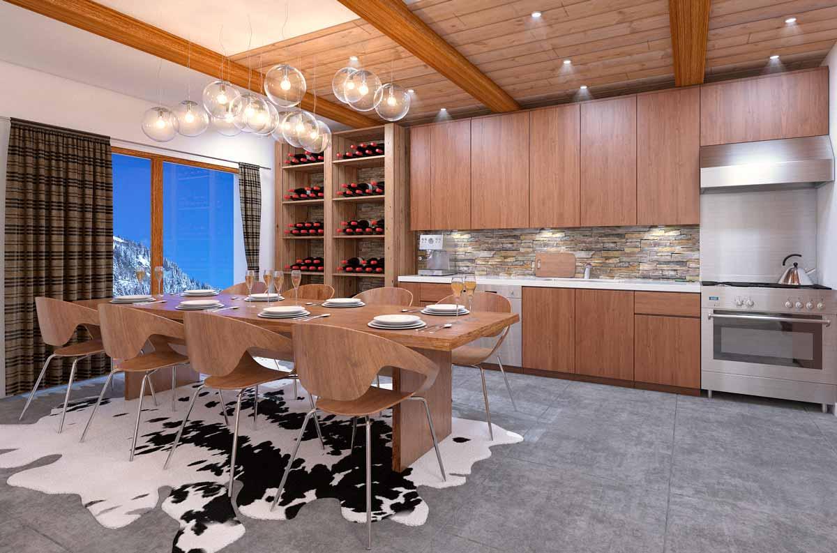 Appartement type : cuisine